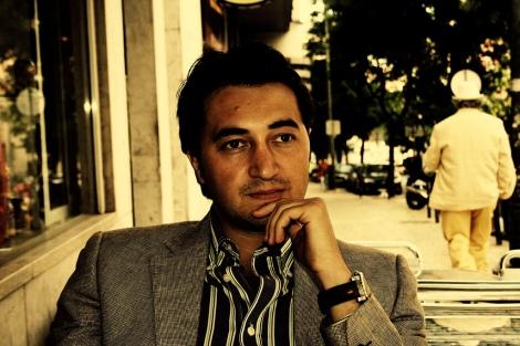 "El autor Fabianni Belemuski, autor de ""Habitante Ficticio"" (Niram Art, 2013)"