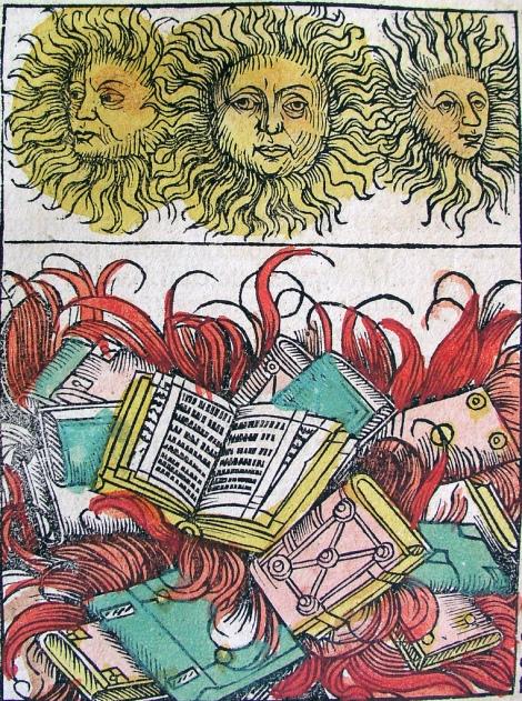 Hartmann Schedel, 'Nuremberg Chronicle' (1493), XCIIv.